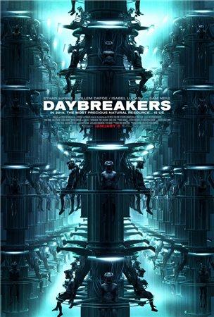 Смотреть онлайн Воины света / Daybreakers (2009)